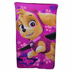 Paw Patrol Blanket Blue Dogs and Pink Skye 100 x 150 cm cheap