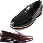 New Polytec Slip on Loafers Men Casual Leather Formal Dress Casual Shoes Nova