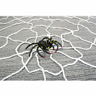 HALLOWEEN INDOOR OUTDOOR GIANT NYLON SPIDERS WEB DECORATION SPIDER +Hook Y