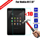 10Pcs Ultra Thin Tempered Glass Film Screen Protector Guard For Nokia N1 7.9""