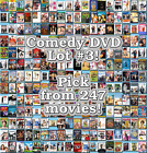 Comedy DVD Lot #3: 247 Movies to Pick From! Buy Multiple And Save!