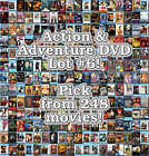 Action & Adventure DVD Lot #6: 248 Movies to Pick From! Buy Multiple And Save! $4.02 CAD