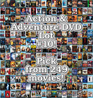 Action & Adventure DVD Lot #10: 249 Movies to Pick From! Buy Multiple And Save! $4.02 CAD