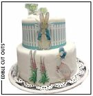 Peter rabbit Cut out  icing or wafer Cake & cupcake toppers Birthday Christening