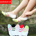 10 Pairs Women Bamboo Fiber Invisible No Show Nonslip Loafer Boat Socks Low Cut