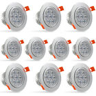 Dimmable LED Recessed Ceiling Lights 3/5/7/9/12/15/18W Downlights Day Warm White