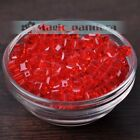 6mm Cube Czech Glass Square Crystal Faceted Loose Spacer Beads Jewelry Findings