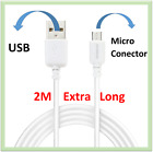 2M / Micro USB Data Sync Charging Cable For Samsung Glaxy S6 Edge & Edge+ Plus