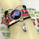 NEW BUFFALO BILLS BRACELET football NFL Infinity Love Charm Helmet on eBay