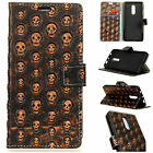 HD For Nokia 3 5 6 7 8 Phone Emboss Metal Storm Leather Wallet Card Case Cover
