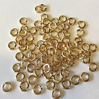5 14K Solid Yellow Gold Jump Rings 3mm Jumpring Wire 18 gauge Top Quality 14KT