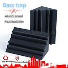 4/8 Pcs Acoustic Bass Trap Foam Sound Proof Insulation Studio Corner Treatments