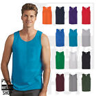 Gildan Mens Heavy Cotton Tank Top T-Shirt Plain Tee Muscle Gym Sleeveless - 5200 image