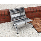 New Charcoal Small Portable BBQ Barbecue Grill Patio Outdoor Garden Heat Barrel