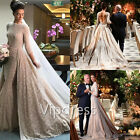 Vintage Empire Wedding Dresses Lace Applique Half Sleeve Bridal Ball Gowns 2017