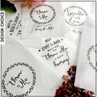 10 Personalised glassine Confetti Favour Treat Sweet Bags Vintage Wedding