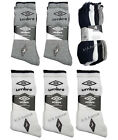 4 Pairs Men's Umbro Sport Socks Assorted  Colours Everyday Socks UK 6-11