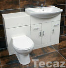 St. Moritz Vanity Furniture WC Pan & Basin Unit Set Available In Various Sizes