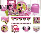 Minnie Mouse Happy Helpers Birthday Party Decorations Plates Napkins Cup Loot