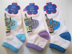 """NEW WOMENS BETTY BOOP """"KISS FOR LUCK"""" ANKLET SOCKS SIZE 9-11 YOU CHOOSE COLOR $1.5 USD"""