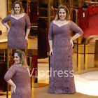 Plus Size Mother Of The Bride Dresses Formal Wedding Gown Long Dress Suits 2017