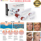 5 in 1 Derma Roller Skin Therapy Micro Needle Titanium Microneedle Scars Pro Kit image