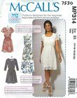 McCall's 7530 Misses' Dresses   Sewing Pattern