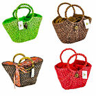 STRAW STUDIO'S STRAW WOVEN TOTE BAGS 4 DIFFERENT ONES TO CHOOSE FROM BRAND NEW