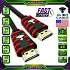 Alien Cable Ultra High Speed UHD HDMI 2.0 Cable 4K 2160P X2K 3D LED LCD HDTV HDR