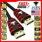 Alien Cable Ultra HD High Speed HDMI 2.0 Cable 4K 2160P X2K 3D LED LCD HDTV HDR