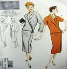 Vogue Sewing Pattern 2323 Ladies 14 Vintage Model 50's Wrap Jacket Suit