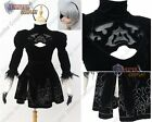 NieR Automata YoRHa No.2 Type B Cosplay Costume with headband black J