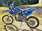 WR250F WR400F WR426F Graphics decal sticker kit 1998 - 2002  #2500-Blue