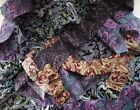 PAISLEY FABRIC SCRAPS/REMNANTS STRIPS - MIXED COTTON - QUILTS/CRAFTS/PATCHWORK