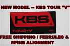 *NEW* KBS TOUR V - NEW LOW SPIN MID LAUNCH SHAFT -- .REGULAR FLEX 355 TAPER