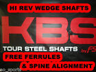 KBS TOUR HI REV WEDGE SHAFTS  -- .355 TAPER -- STIFF, REGULAR, X-STIFF