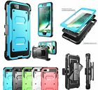 Rugged Shockproof Hybrid Armor Impact Case Cover with Built-in Screen Protector