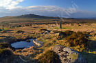 King's Tor Dartmoor Devon Art Photo Canvas (UK)