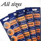 SONY Lithium Batteries ( All Sizes ) Coin cell Battery Watch Scales Remote Fob