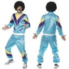 Smiffy's Mens 80's Fashion Shell Suit Costume Scouser Fancy Dress Outfit