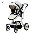 New Fashion Baby Pram Pushchair Stroller + Car Seat, Luxury Travel System 3 in 1