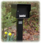 """Outside Rural Locking Mailbox """"Built like a tank!"""" 96 LBS! ( A Curbside Safe )"""