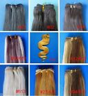 """Weft Skin 100% Real Remy Human Hair Extensions 20"""" 100g Straight Wavy Curly Long"""