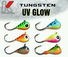 Внешний вид - TUNGSTEN BRIGHT UV KENDERS ICE JIGS - CRAPPIE - BLUEGILL - PERCH