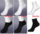 Women's Sport Socks 6-12 Pairs Lot no show size 9-11 crew ankle low cut spandex