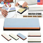 Dual Whetstone Kitchen Knife Grit Sharpener Sharpening Water Stone 3000/8000 A+