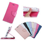 Luxury PU Leather Card Holder Wallet Flip Case Cover For iPhone Huawei Samsung