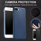 Luxury Carbon Fiber Scratch Resistant Soft Case Cover Skin For iPhone 7 Plus UK