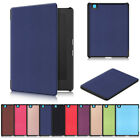 "Auto Sleep Smart Case Leather Cover For Kobo Aura H2O Edition 2 6.8"" eReader UK"