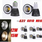 Energy Saving Dimmable GU10 MR16 E27 COB LED Spot Light Bulb Downlight CaF803